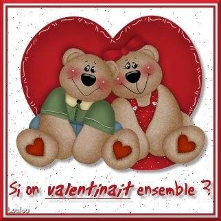 Très jolies images pour la St-Valentin ...