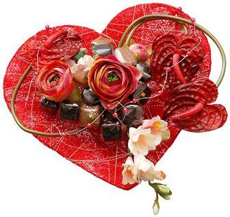Roses et fleurs de toutes sortes page 11 for Bouquet de fleurs coeur